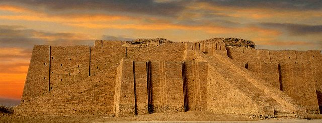 Sunrise at the Ur Ziggurat, Iraq. https://flic.kr/p/6r6ngh