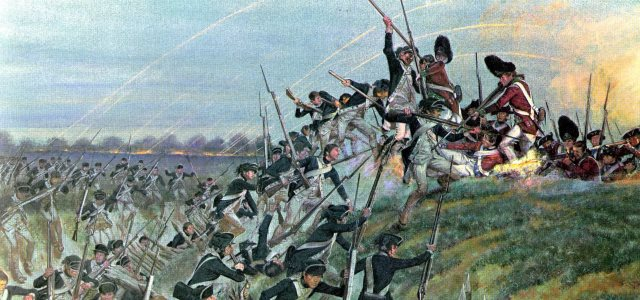 The-battle-of-Yorktown
