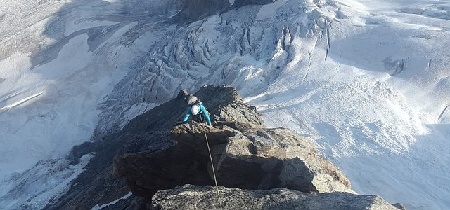 Rock Climbing Snow