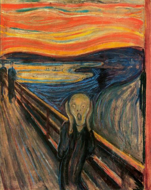 The Scream Oil Painting